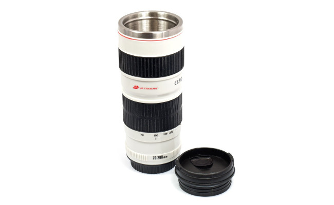 RED5 camera lens flask