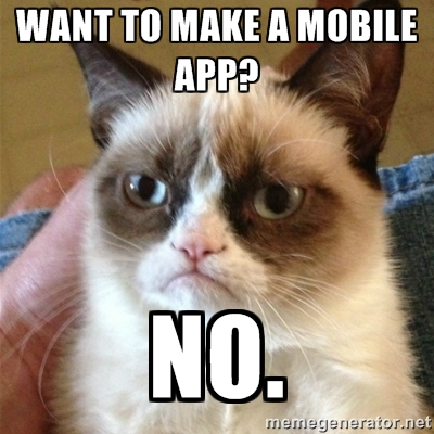 App developer meme