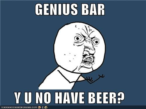 Genius Bar meme