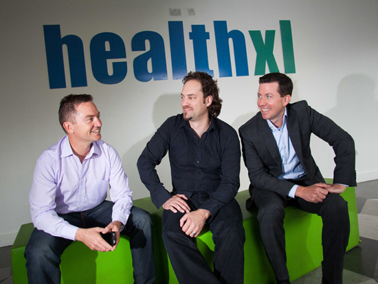 launch of HealthXL in Science Gallery