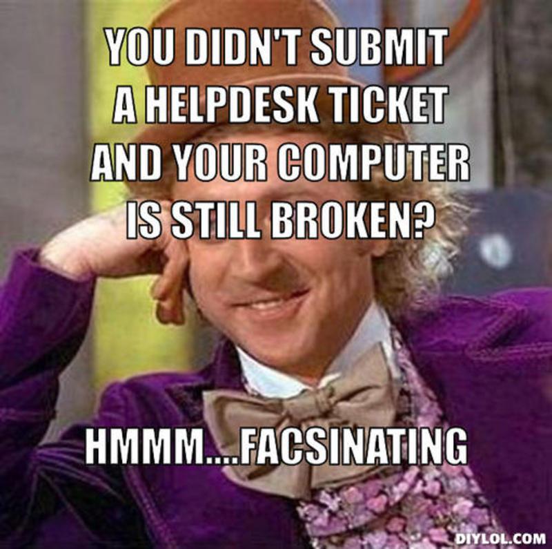 Service Desk Memes Home Facebook