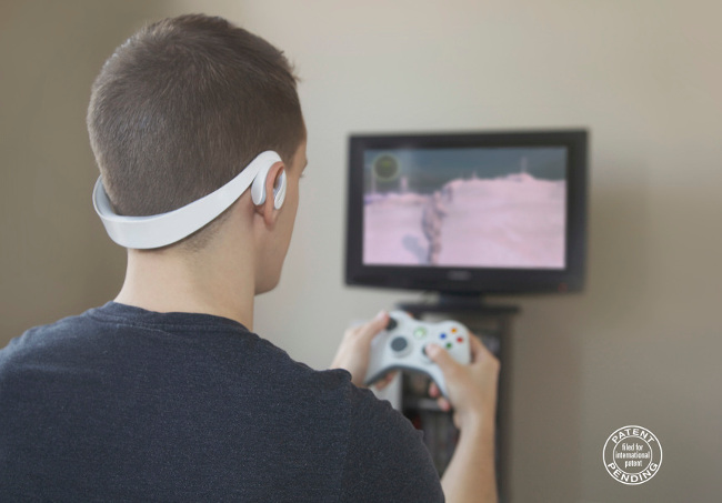 Immersion gaming headset designed by Sam Matson