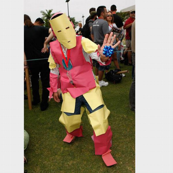 Easy Iron Man costume