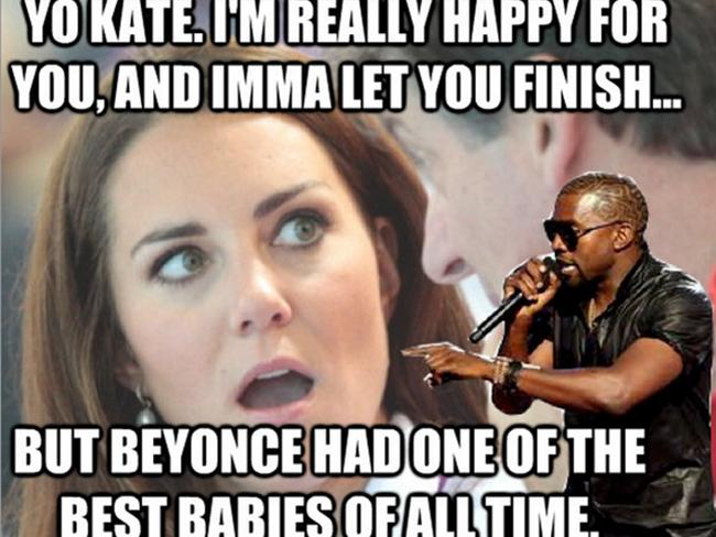 Royal baby meme