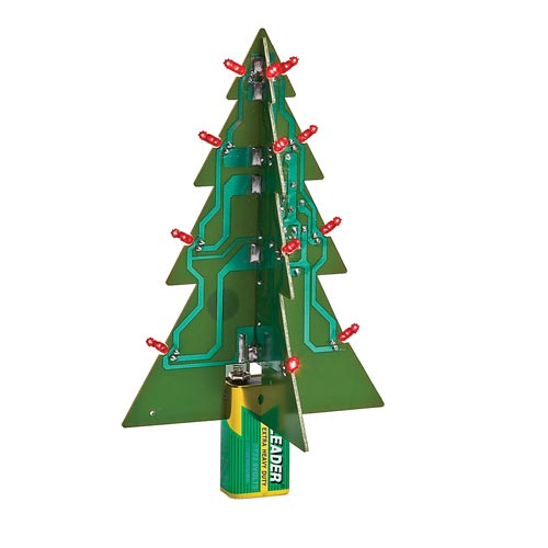 LED Motherboard Christmas Tree