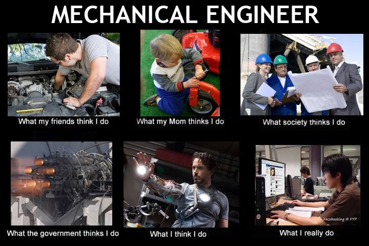 Mechanical engineer meme
