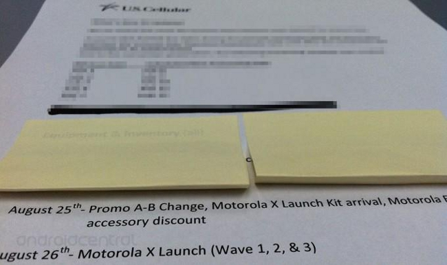 Leaked Moto X Memo - Android Central