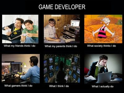 Game developer meme