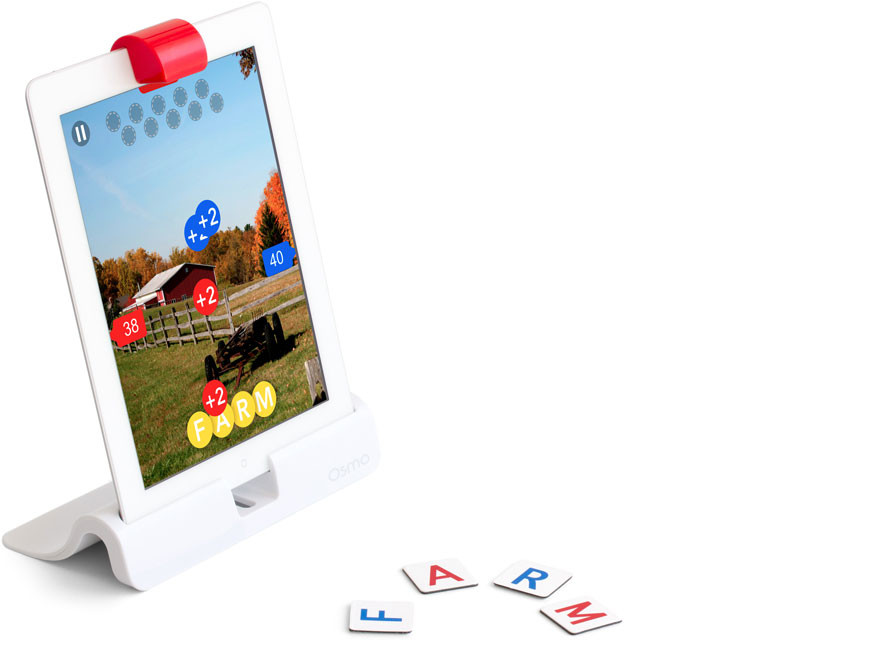 Osmo game system for iPad
