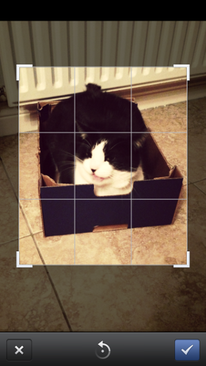 Facebook 5.1 for iOS - photo filters