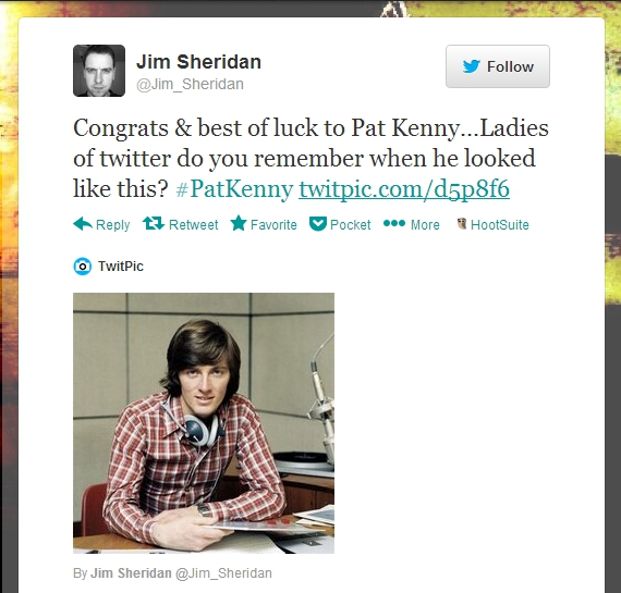 Pat Kenny Twitter reaction