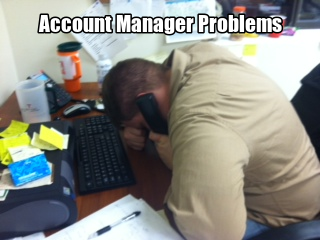 Account manager meme