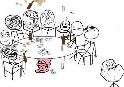 Rage Comics party