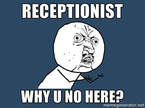 Funny Memes For Receptionist : Career memes of the week receptionist careers