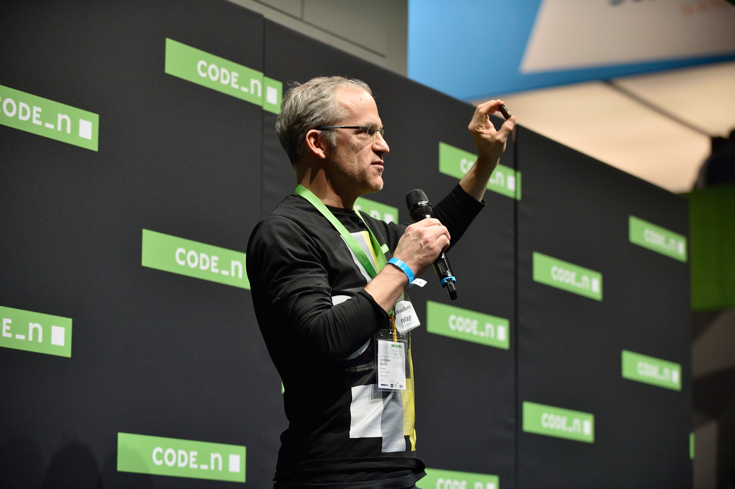 Relayr pitches Code_n at CeBIT