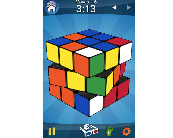 rubiks cube screenshot iphone app