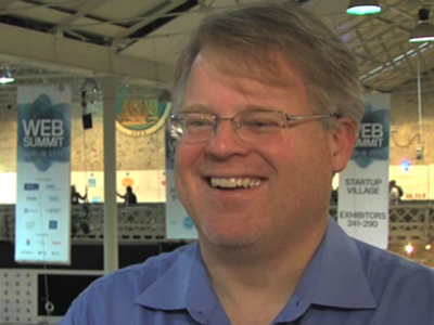 Scobelizer's Robert Scoble pictured at the Dublin Web Summit in October