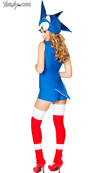 Sexy Sonic the Hedgehog costume