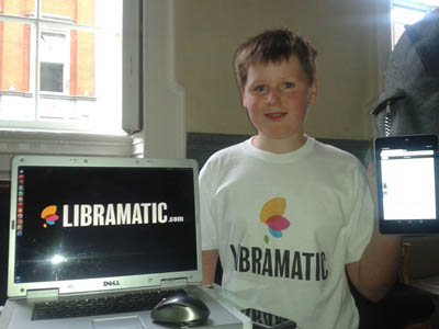 Shane Curran founder of Libramatic