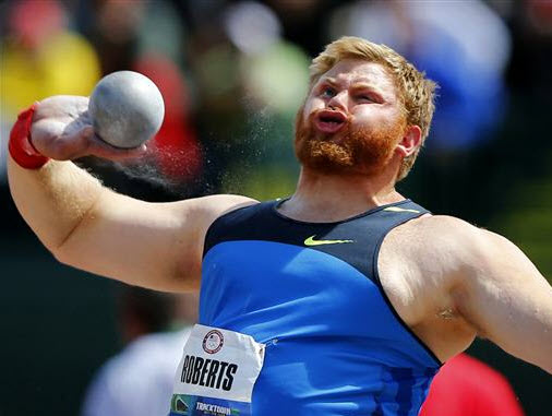 Shot put meme