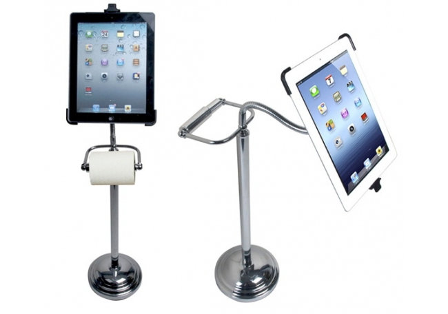 iPad toilet stand by CTA Digital
