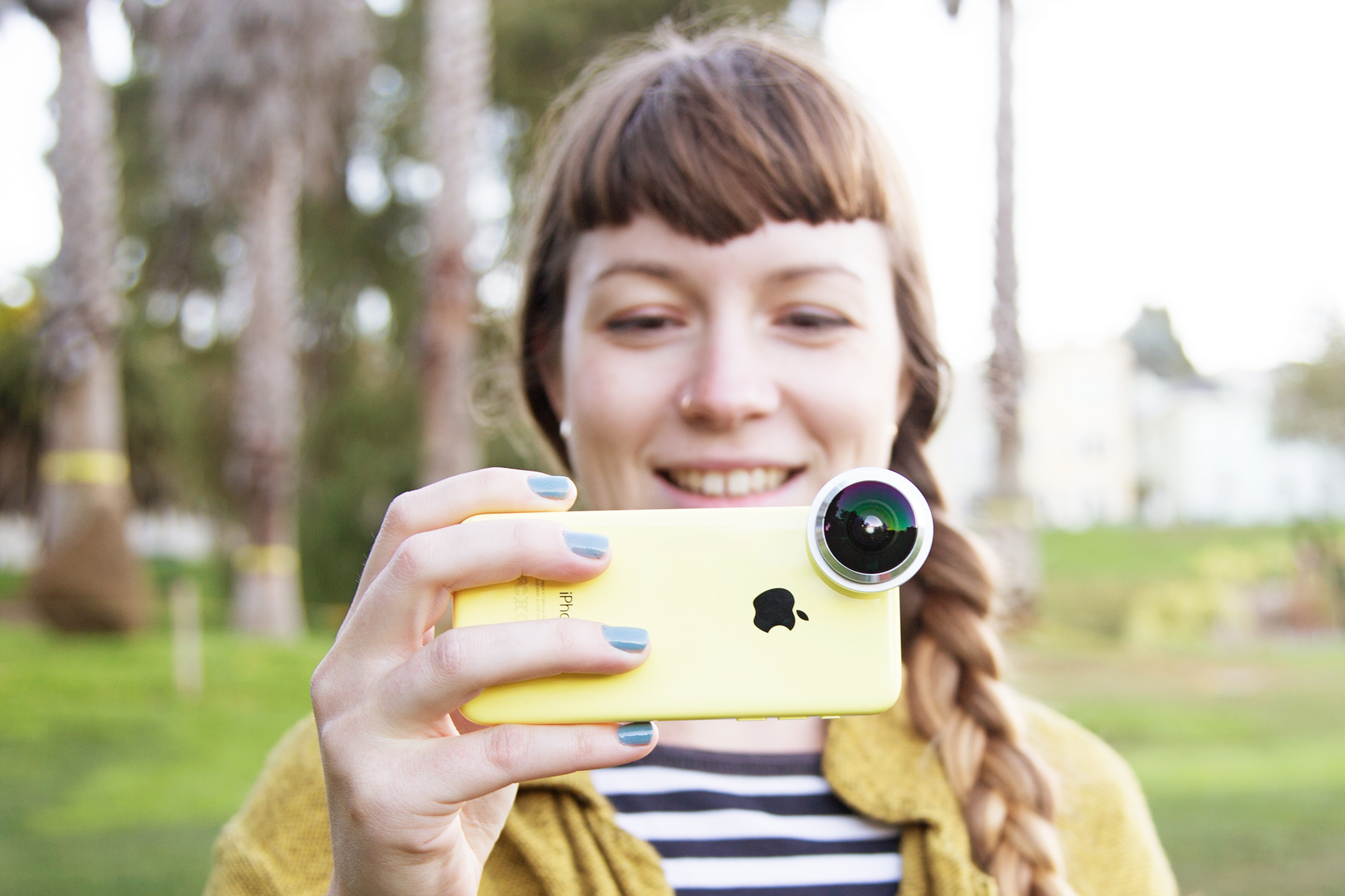 Smartphone camera lenses from Photojojo