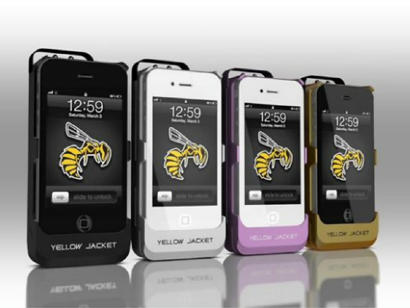 iPhone stun gun case