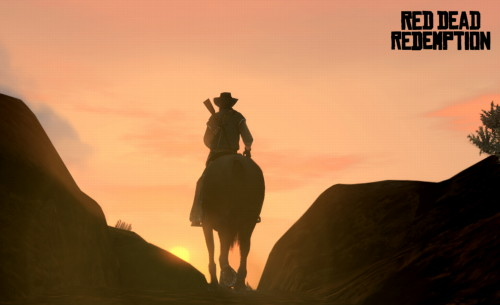 sunset red dead redemption