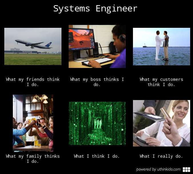 Systems engineer meme