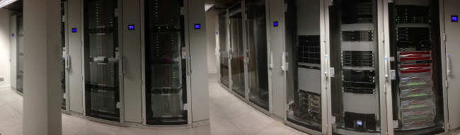 A panorama of the Fionn supercomputer system