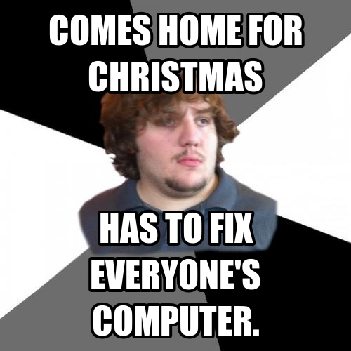 Tech support worker meme