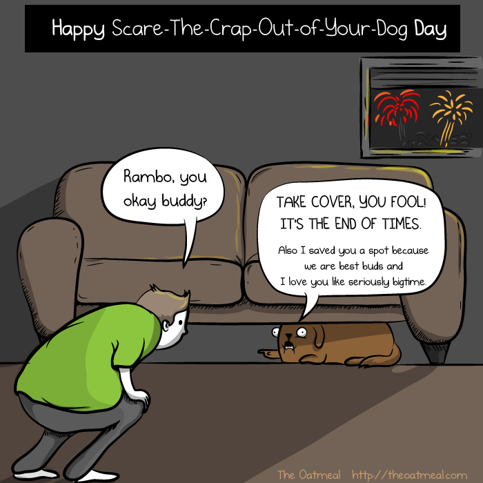 Comic by The Oatmeal