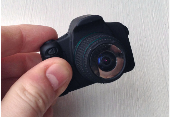 World's smallest digital fish eye camera
