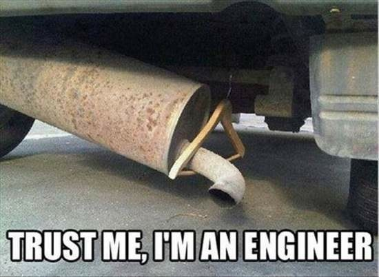 'Trust me, I'm an engineer' memes