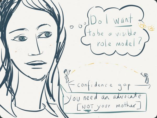 Julia Hartz, president and co-founder, Eventbrite. Illustration by Eimear McNally/Think Visual
