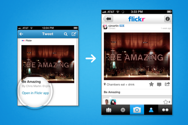Twitter cards - mobile app deep-linking