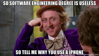 Software engineering meme