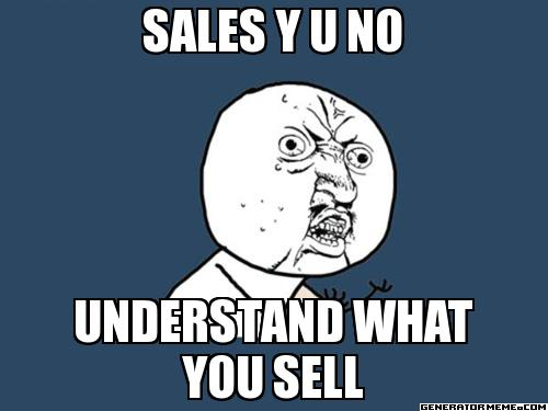IT sales meme