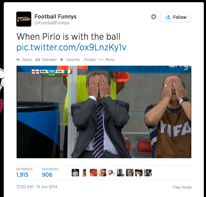 World Cup Memes andrea pirlo