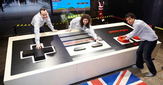 World's largest vidoe game controller