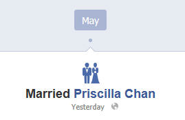 zuck marries priscilla chan