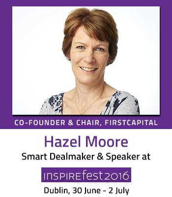 Inspirefest speaker Hazel Moore