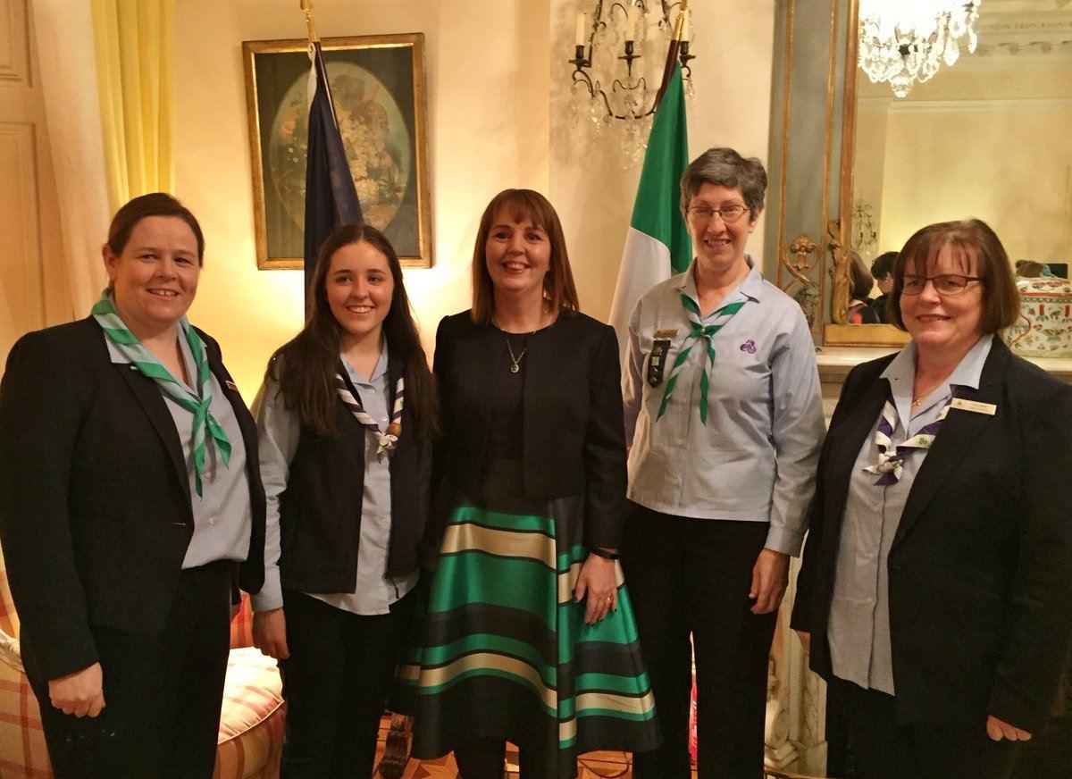 Helen Concannon (far left). Image: Twitter