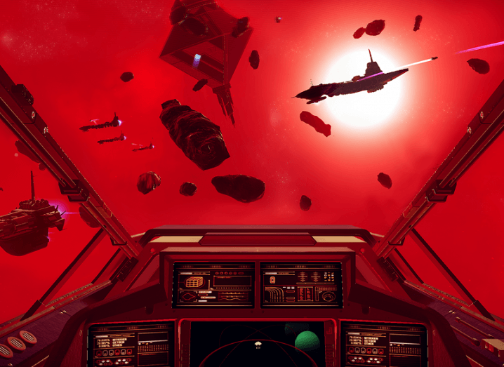 No Man's Sky red