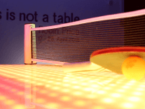 Want to see 4,000 lights dance across a ping-pong game?