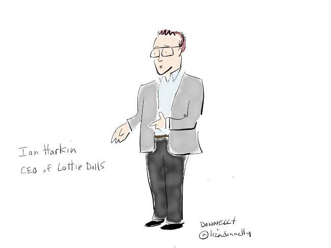 cartoon of ian harkin