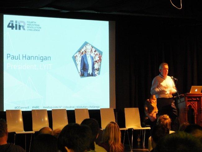 paul hannigan speaking at 4IR