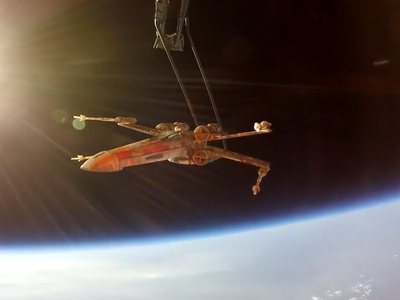 Star Wars model X-Wing