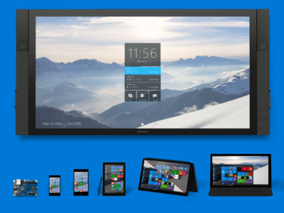 Microsoft Windows 10 will allow iOS and Android apps to work on Windows devices