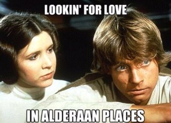Love in Alderaan places